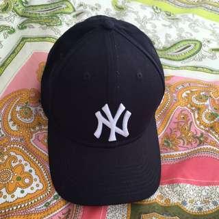 Navy New York Cap