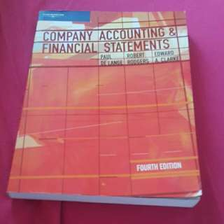 Company Accounting And Financial Statements