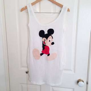 Mickie Mouse Knit Top/dress