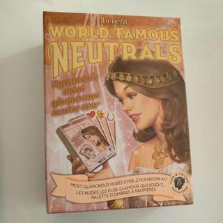 Benefit World Famous Neutrals - Eyeshadow Kit