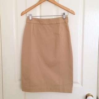 RAOUL Sand Midi Skirt