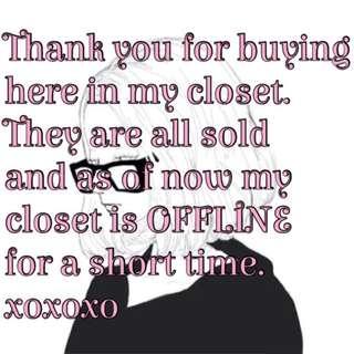 Thankyou customers