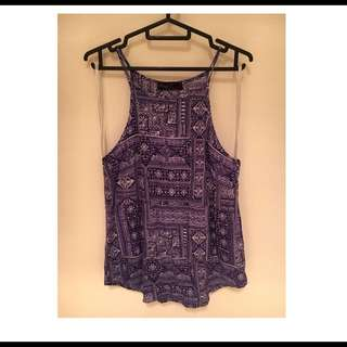 Aztec Spag Top