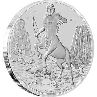 Creatures Of Greek Mythology - Centaur Silver Coin