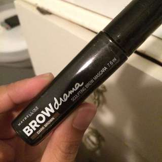 Maybelline sculpting brow drama