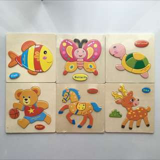 Baby puzzle (Suitable from 1 Years Old)