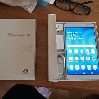華為X1  4G平板