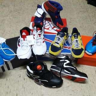 全新實戰籃球鞋慢跑鞋出清