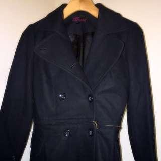 Black Emanuella Coat