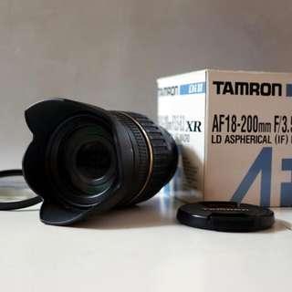 Tamron 18-200mm for Pentax Dslr