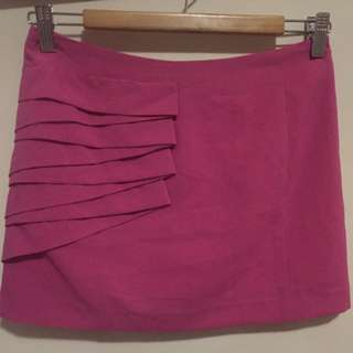 Bright Fuchsia Skirt