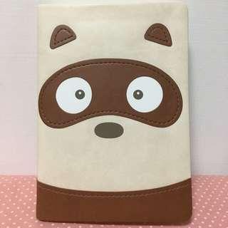 【Daycraft】動物趣臉系列筆記本 – A6 , 浣熊