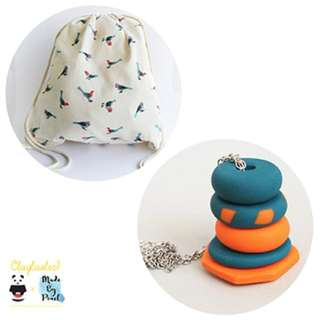 Fly Free Birds Bundle (Bag + Necklace)