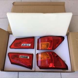 2006-08 Lexus IS250/IS350 Factory OEM Taillights (set)