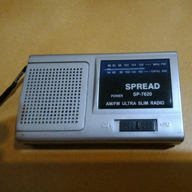 古董迷你收音機