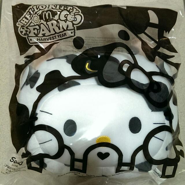 麥當勞 Hello Kitty 2016 活力 乳牛 抱枕