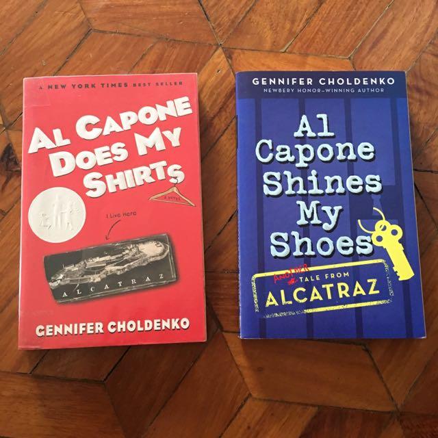Al Capone at Alcatraz Book Bundle