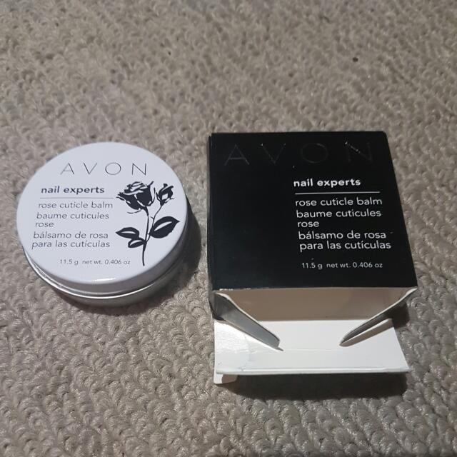 Avon Rose Cuticle Balm