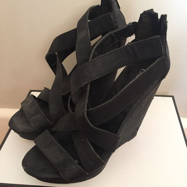 Betts Strappy Wedges