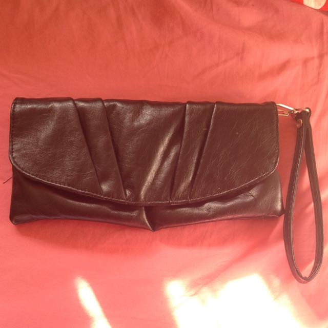 Black Sportsgirl Clutch