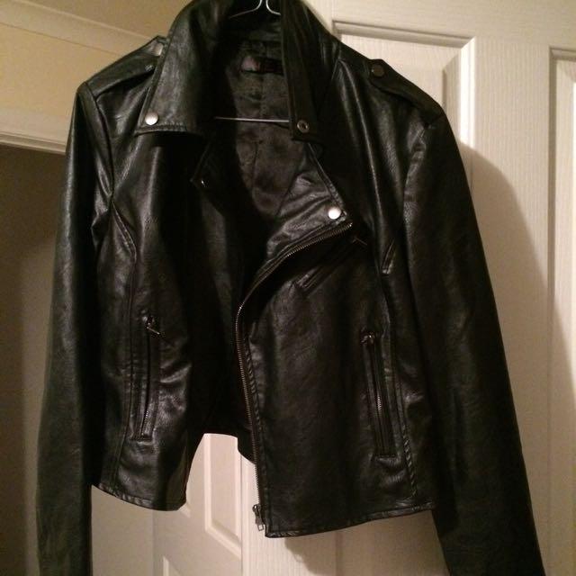 Boohoo Leather Jacket