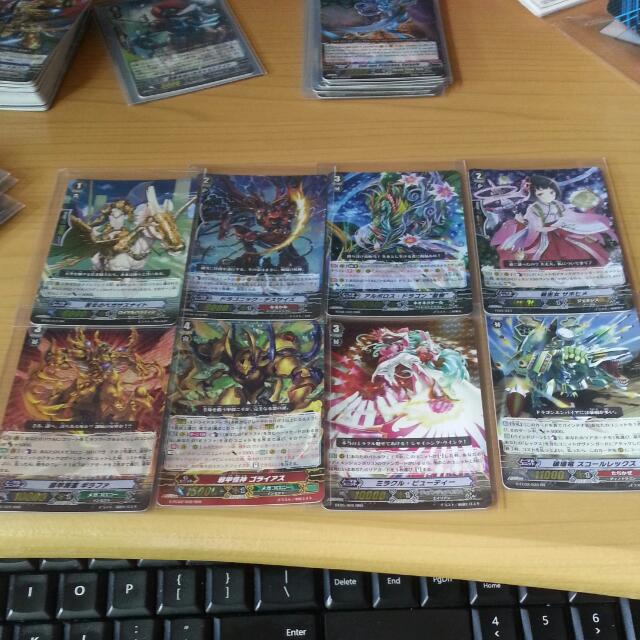 cardfight Vanguard Japanese Foil Wts Selling It Cheap Price Offer Me