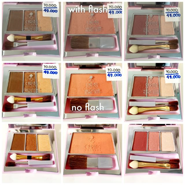Caring Colours Eyeshadow Blush On