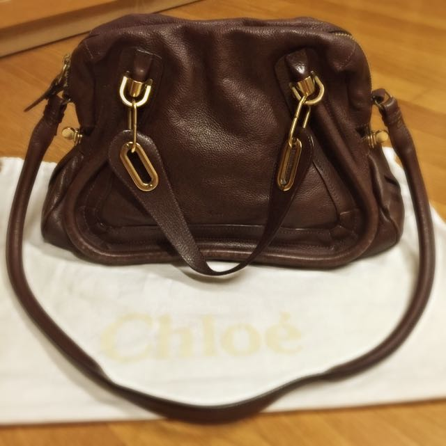 [100% Authentic] Chloé - Medium Paraty Satchel