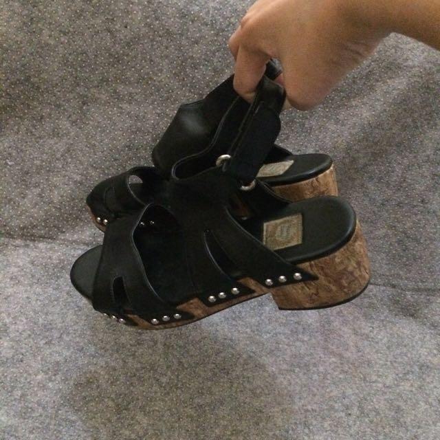 Clogs Size 38 Black
