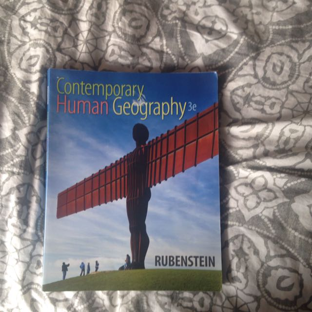 Contemporary Human Geography Textbook