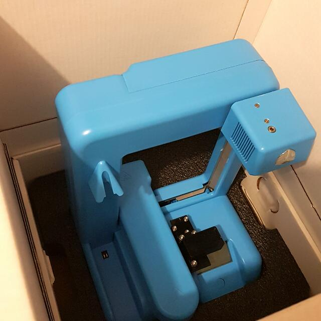 Cubify 3D Printer 2nd generation in Light blue