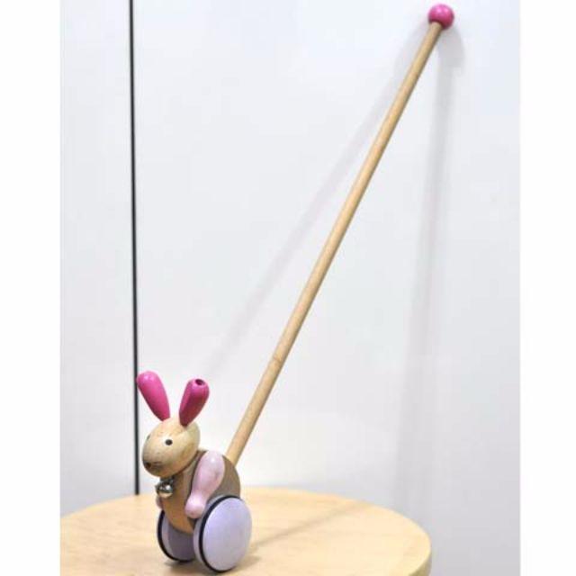 Danish Wooden Rabbit Toy