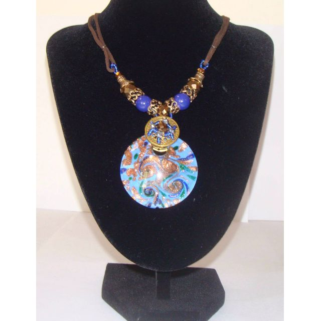 Exquisite Handmade Crystal Pendant Necklace