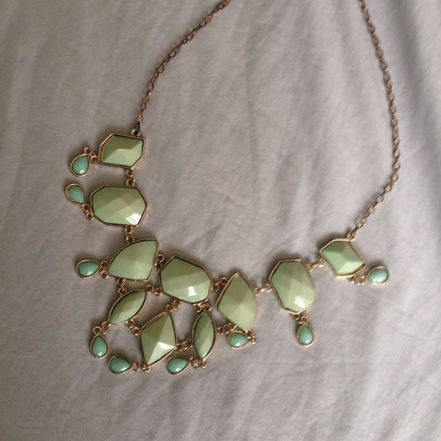 F21 Torquoise Necklace