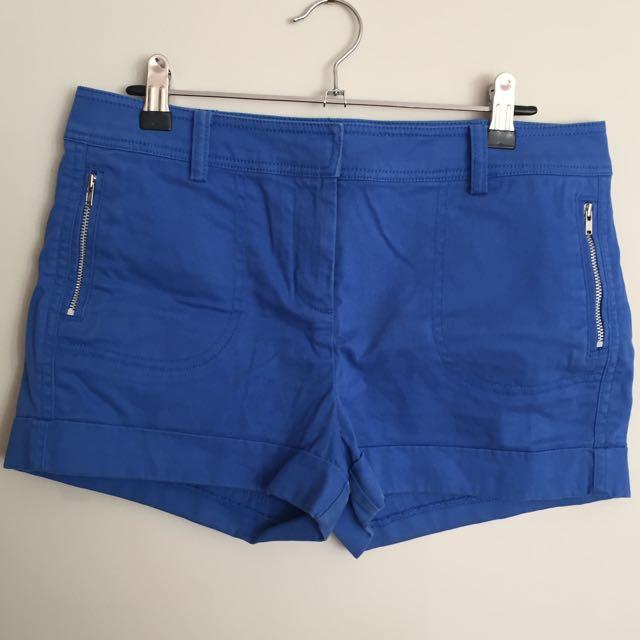 Forever New Blue Shorts