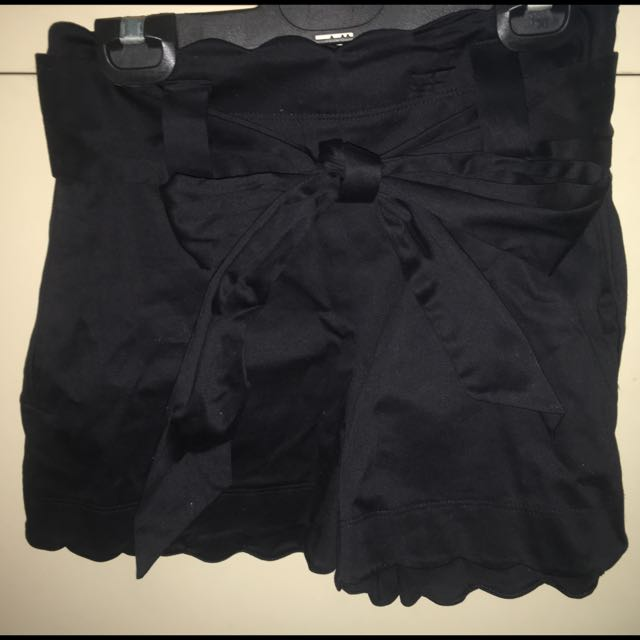 Forever New High Wasted Black Shorts