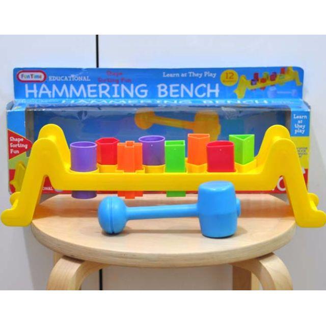 Fun Time Hammering Bench Set