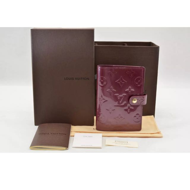 Guaranteed Authentic Louis Vuitton Diary Vernis