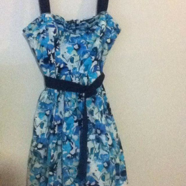Hot Options Floral Dress