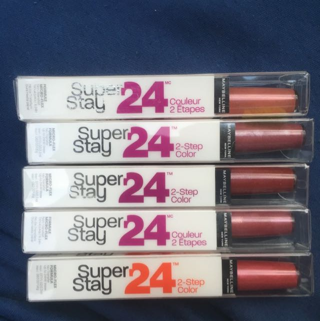 Maybelline Super Stay 24 Hour Lipstick