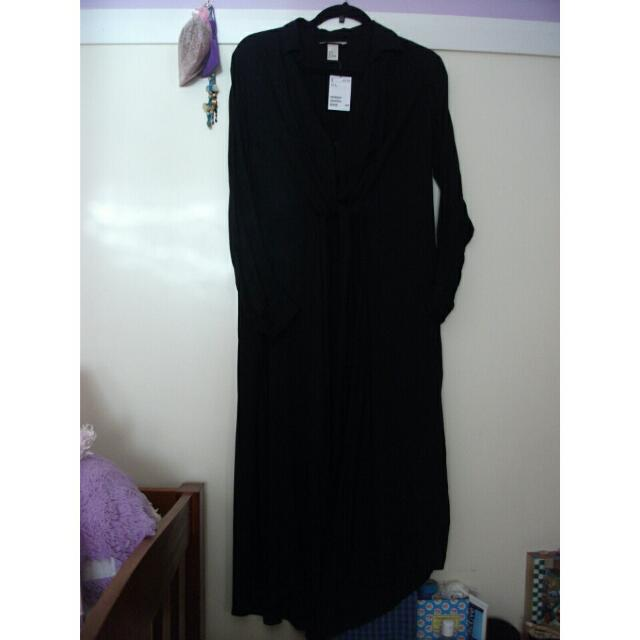 New H&M Maxi Dress, Long Sleeves