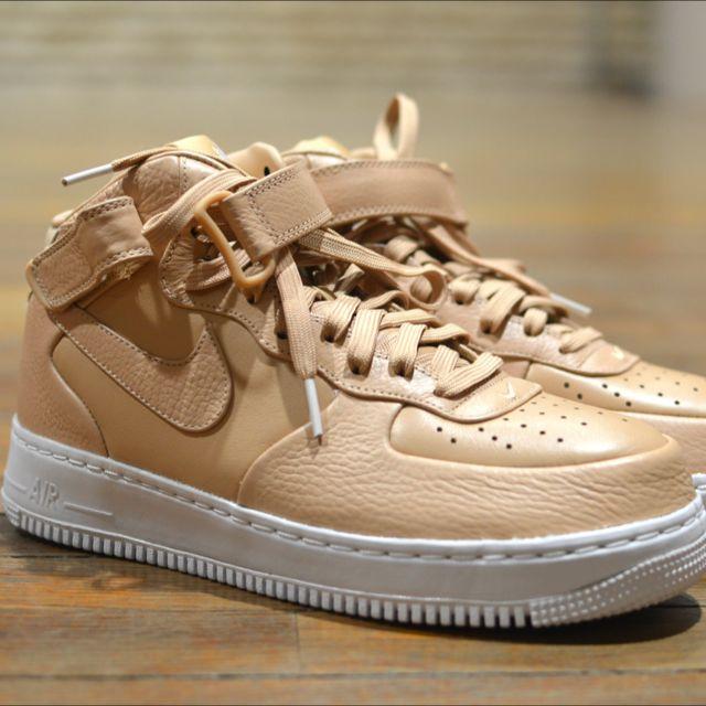 62809caa8837 NikeLab Air Force 1 Mid Vachetta Tan
