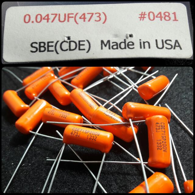 OUT OF STOCK Orange Drop 0.047uf
