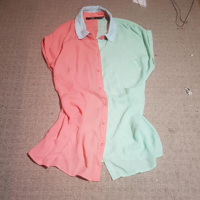 Pastel Coloured Top
