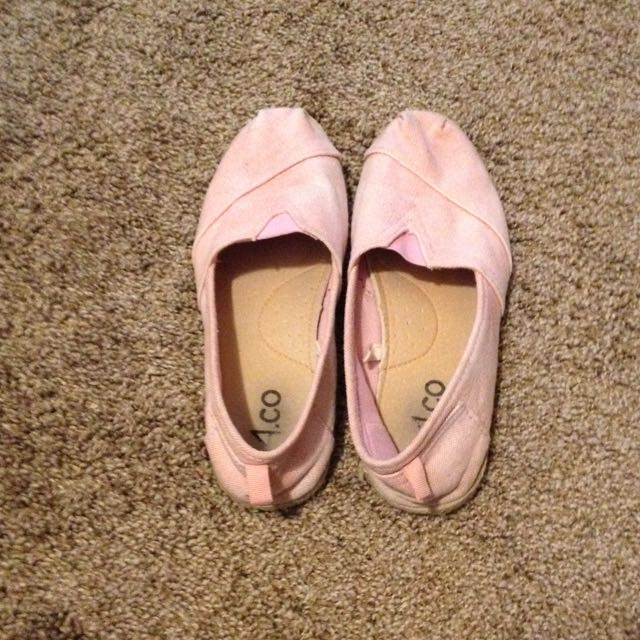 Pink Flats From Ardene