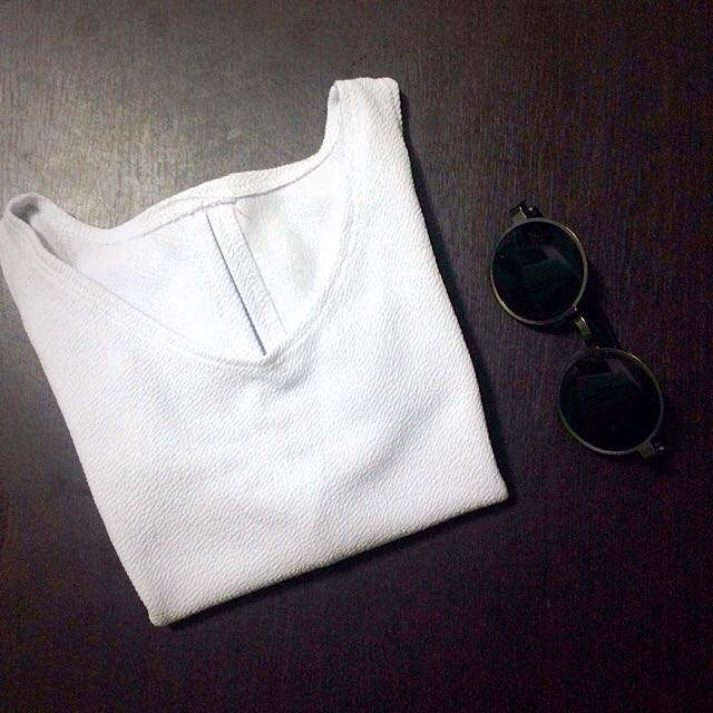 Plain White Top