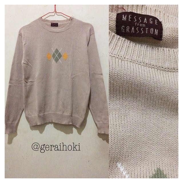 Preloved Message From Grasston Sweater