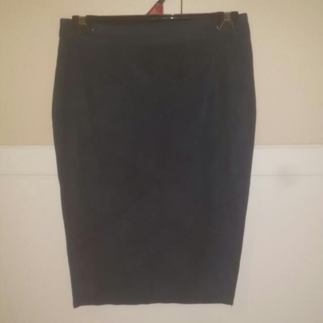 Size 12 Navy Blue Skirt