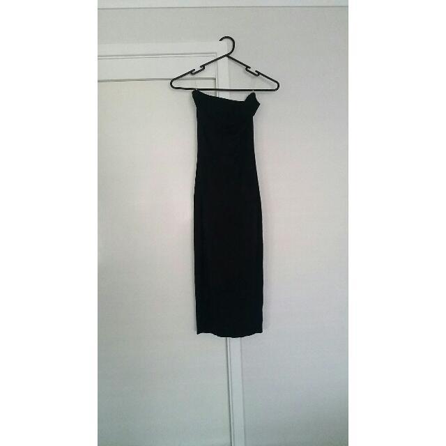 Strapless Black Dress