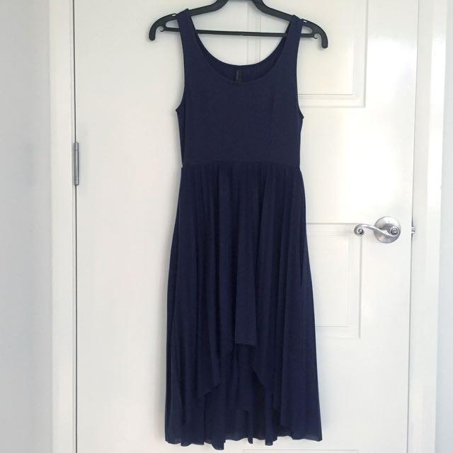 Vero Moda Pleated Hi-low Dress